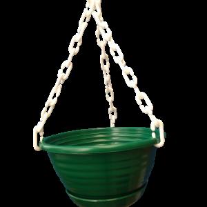 Matera colgante plástica en colores vivos Materas Plásticas y accesorios Vivir para sembrar